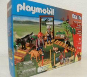 École Playmobil City Life Superset pour Chiens 6145 New & Ovp