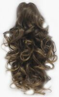 13 Long Layered Loose Curls Curly Hair Hairpiece Ponytail Wiglet Claw Clip