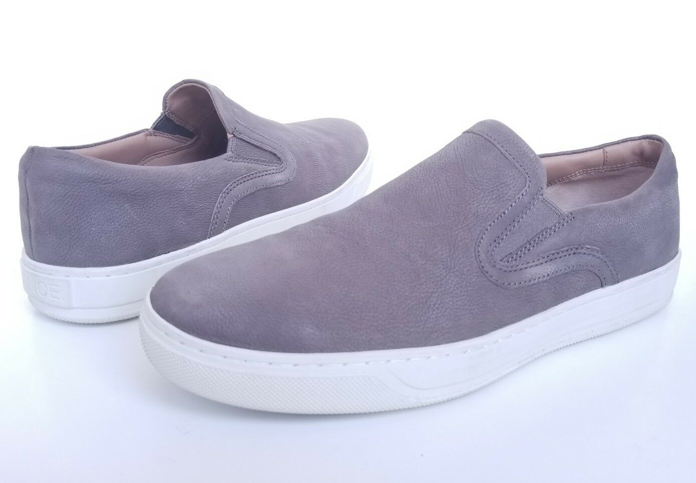 Vince 'Anderson' Slip-On Sneaker Gray Granite Size 8 M /