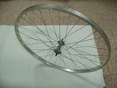 Ruota / Cerchio Anteriore Bici Olanda + City Bike 26 X 1.3/8