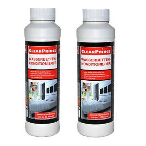 2-piezas-2x-250ml-Set-Cama-de-agua-Acondicionador-Acondicionador-waterfresh