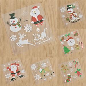 Buch Geschenk Weihnachten.Details Zu Sticker Wand Buch Deko Aufkleber Weihnachtsmann Schneeman Weihnachten Geschenk