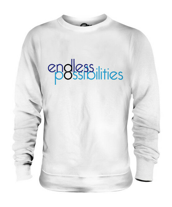 ENDLESS POSSIBILITIES UNISEX SWEATER  TOP GIFT ILLUSION GRAPHIC DESIGN