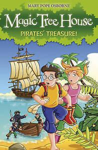 Magic-Tree-House-4-Pirates-039-Treasure-Osborne-Mary-Pope-Very-Good-Book
