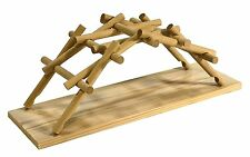 Leonardo Da Vinci Bridge: Pathfinders Wood Construction Model Kit Age 7+