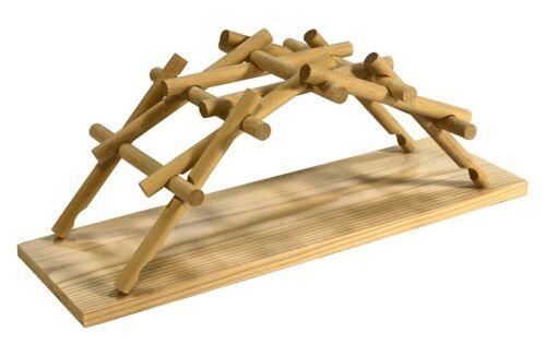 Pathfinders Legno Costruzione Kit Modello Età 7+ Leonardo da Vinci Ponte