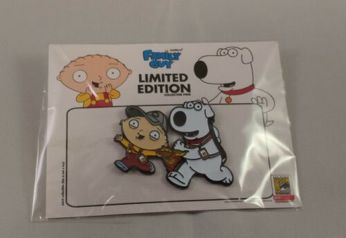 SDCC 2018 Toddland Family Guy ROAD TO SAN DIEGO Pin LE400 Brian /& Stewie