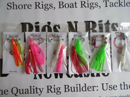 Cod Ling Pollack Sea fishing Boat rigs x 6 Handtied quality deep sea boat rigs