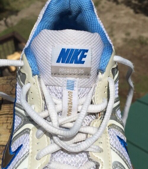 Nike Women Pegasus 25 Running Athletic Shoes Size White/Blue 324493 191 Size Shoes 6 6e8acb