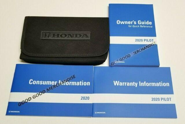 New 2020 Honda Pilot Touring Manual Guide