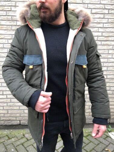 Mode Fashion À Capuche Hommes Fourrure Hiver Parka Style Exclusif Véritable OxY8qaa
