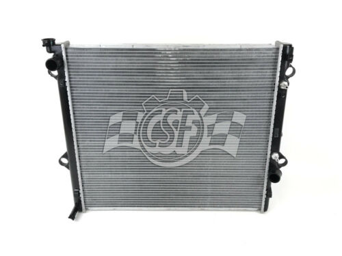 Radiator-1 Row Plastic Tank Aluminum Core CSF 3150
