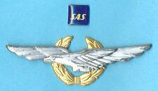 SAS Scandinavian Airlines Pilot Wings Badge
