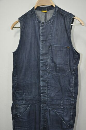 G Star Raw Womens Re Coverall Jumpsuit Denim size