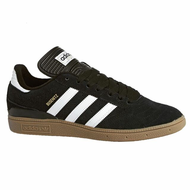 0c32974d646b3 Adidas Busenitz Black Run White Men G48060 Suede Skateboarding Trainers  Sneakers