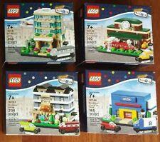 LEGO Bricktober Mini Modular 40141 40142 40143 40144 Brand New Seal Free Ship