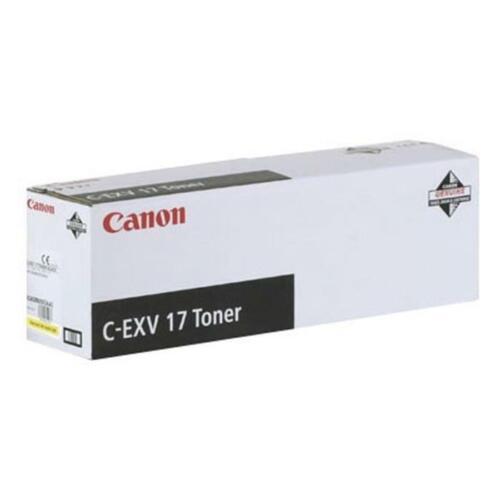 ausweisbar Toner Canon iRC 4080//4580//5185//N Yellow C-EXV17 Org 0259B002 MwSt
