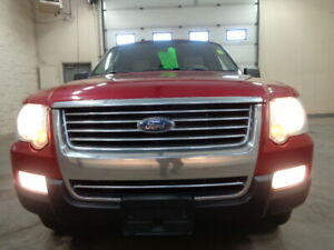 2007 FORD EXPLORER XLT-4X4-HEATED LEATHER-SUNROOF-8 PASSENGERS