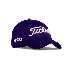 Titleist Golf Tour Performance Adj. Hat Cap - TCU Texas Christian ... 672e3ee26a2