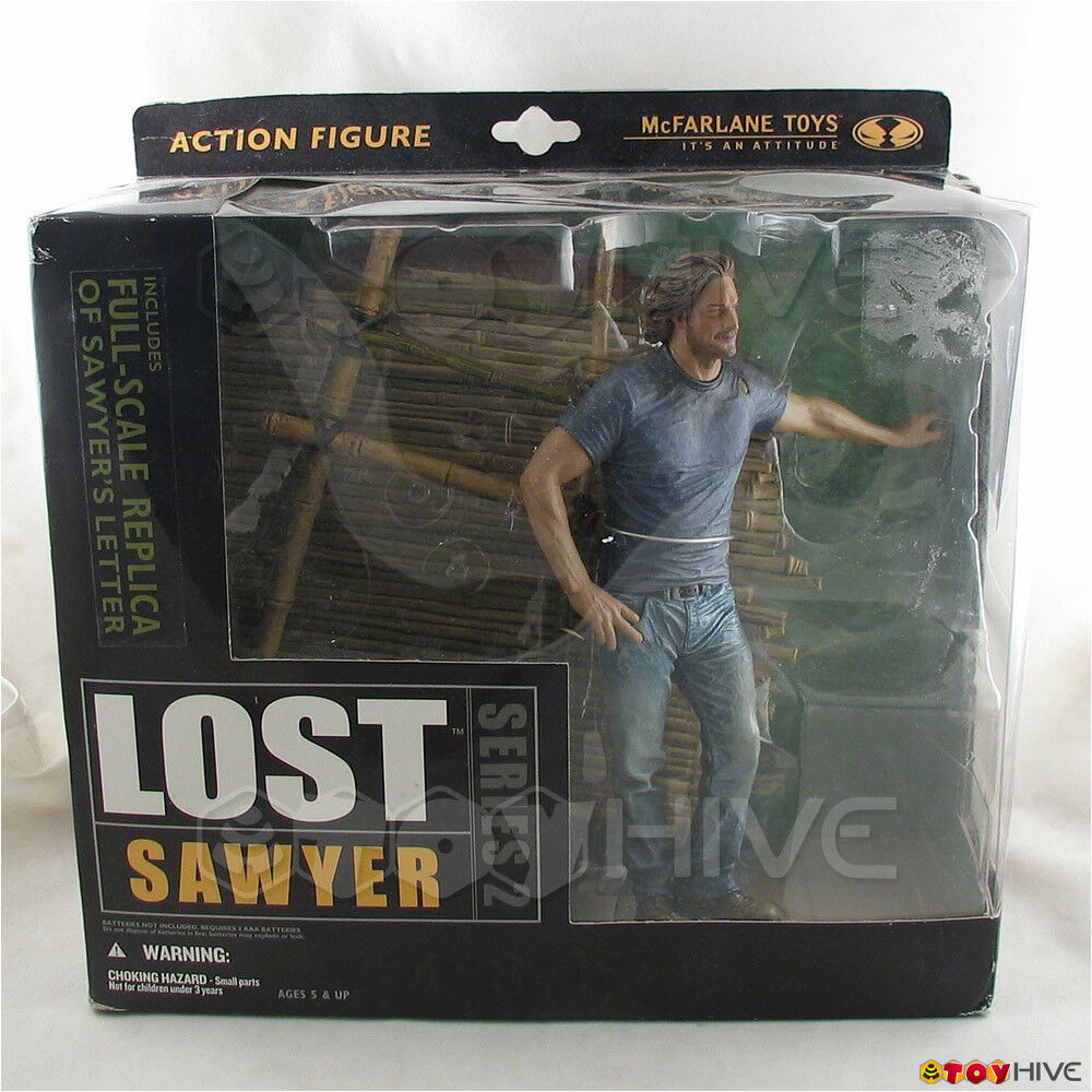 Lost TV Series 2 James Sawyer with sounds and prop by Mcfarlane Toys