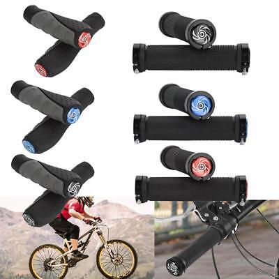 BMX MTB Mountain Bike Bicycle Handle Handlebar End Grips Cycling Double Lock on
