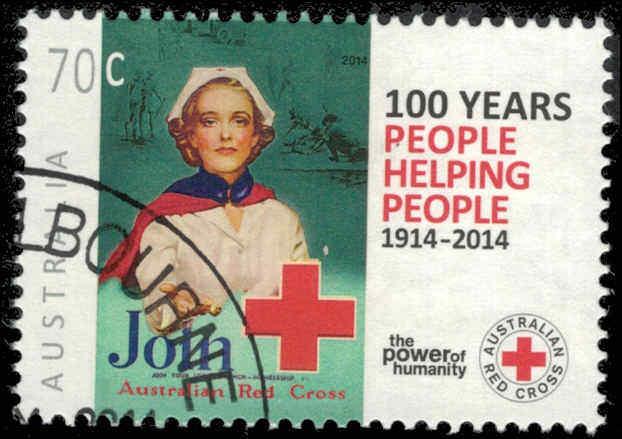 2014 AUSTRALIA Australian Red Cross, Cen. CTO