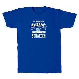 Herren-T-Shirt-Schweden-Therapie-Therapy-Sweden