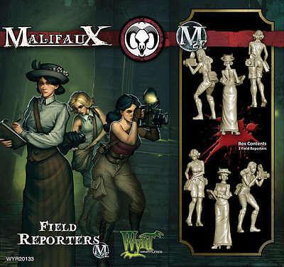 WYRD MALIFAUX WYR20133 FIELD REPORTERS (MINIATURES)