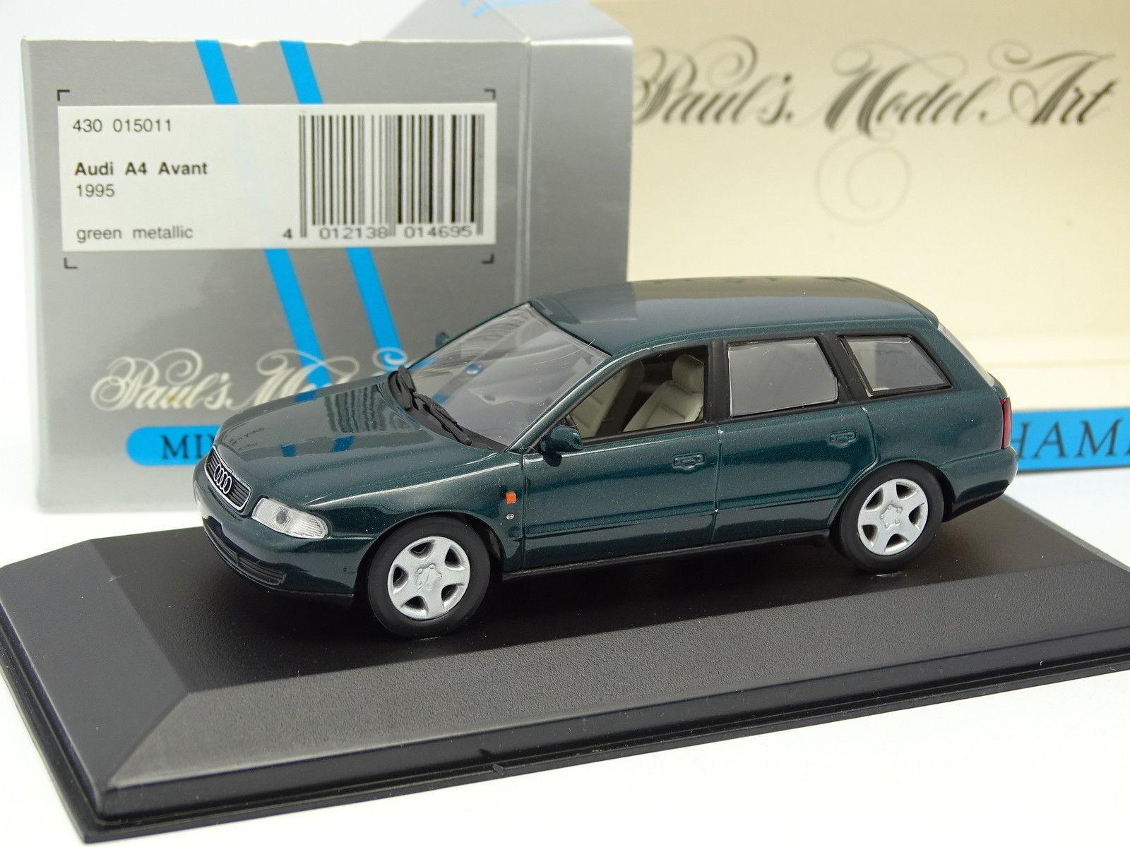 Minichamps 1 43 - audi A4 vorne Kombi grün 1995    Trendy