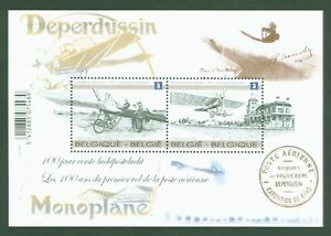 Belgien-Belgium-2013-100-Jahre-Flugpost-Airmail-Luftfahrt-Block-174