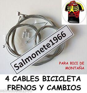 2-CABLES-FRENO-2-CAMBIO-MTB-BICICLETA-DE-MONTANA-PARA-CAMPAGNOLO-SHIMANO-SRAM