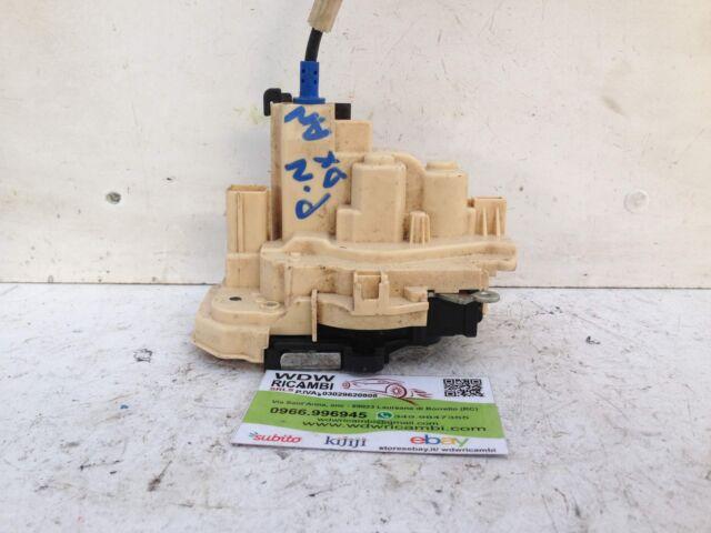 520184640 CHIUSURA SERRATURA ELETTRICA PORTA ANTERIORE DX FIAT PANDA 3 DAL 2012