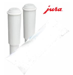 2 PACK Jura Clearyl Claris White Water Filter Cartridge Coffee Maker
