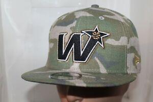 Washington-Wizards-New-Era-NBA-Combo-Camo-9Fifty-Snapback-Hat-Cap-NEW