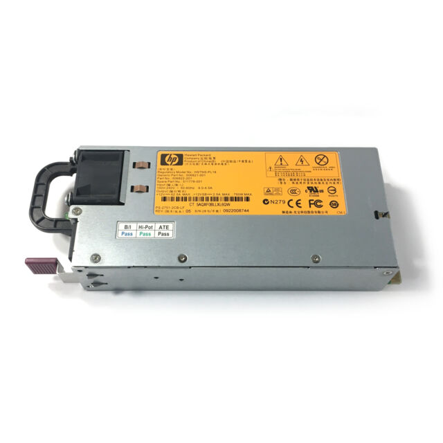 HP 750w Power Supply Hstns-pl18 506821-001 506822-201