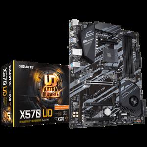 NEW Gigabyte X570 UD Motherboard CPU AM4 AMD Ryzen DDR4...