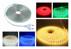 SMD3014-LUZ-CINTA-TIRA-FLEXIBLE-LED-AC220V-60-LED-M-IMPERMEABLE-COLOR-A-ELEGIR