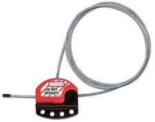 Master Lock S806cbl3 Adjustable Cable Lockout3 Ft4 Locks Max