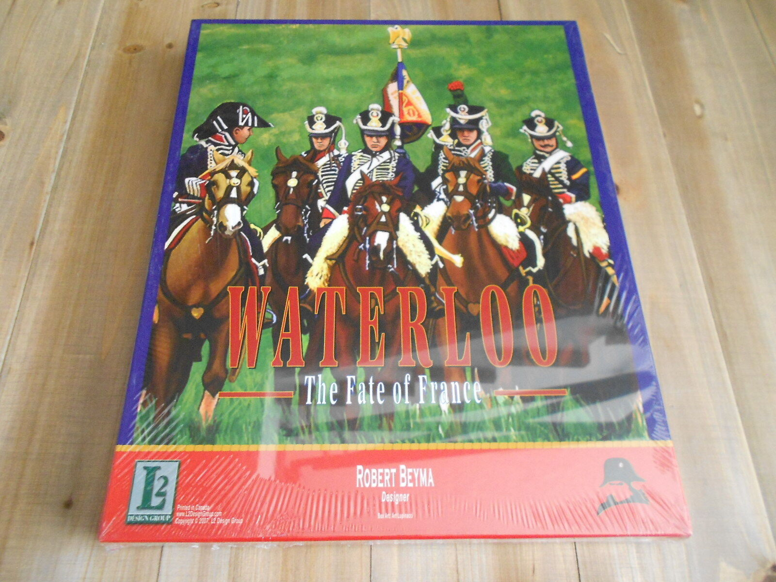Juego wargame - WATERLOO - The Fate of France - L2 Design - SW Condition