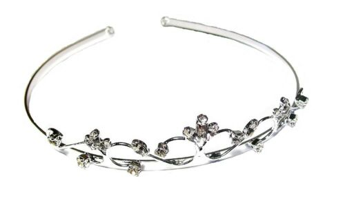 Girls Alice Headband Hair Band Bridesmaid Tiara Prom Butterfly Crystal Crown UK