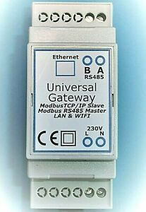 Modbus MQTT Gateway sdm630 sdm72d/giorno or-we-516/Saia contatore WLAN RTU rs485