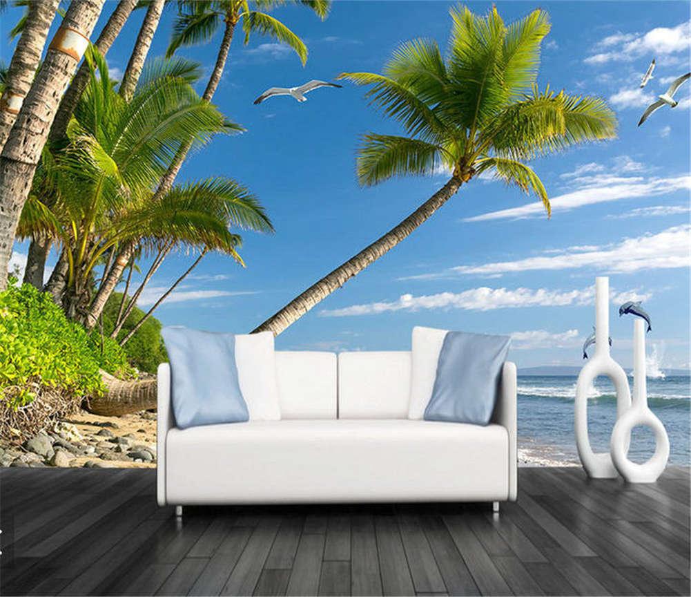 Harmonious Soft Wind 3D Full Wall Mural Photo Wallpaper Printing Home Kids Decor