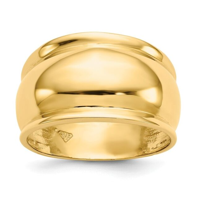 Polished 5-Row Rope Design Stack Ring Real 14K Yellow Gold QVC Sz 5 6 7