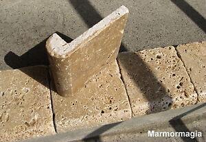 Details Zu Travertin Marmor Antikmarmor Naturstein Fliese Florentiner Profilfliese 10x10 Cm