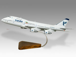 Boeing 747-200 Southern Air Wood Desktop Airplane Model Aeronautica Collectables