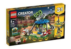 LEGO-31095-Creator-Fairground-Carousel-Brand-new-amp-Sealed