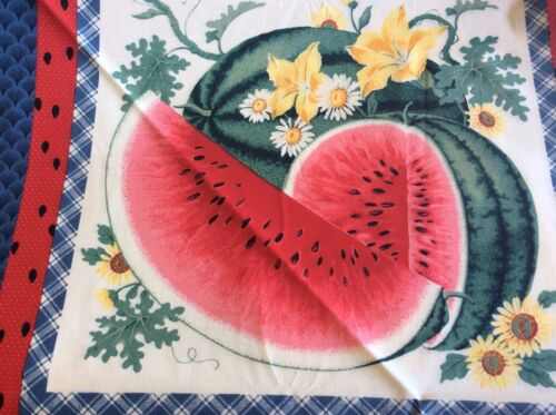 WATERMELON 2 BLOCK PILLOW PANEL BY SPRINGS