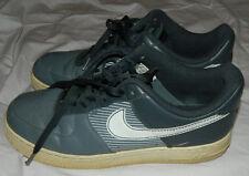 Men's Nike Men Vintage Air Force 1 AF-1 82 Leather Shoe White / Gray Size 11.5