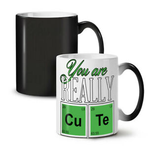 Cute Chemistry Geek NEW Colour Changing Tea Coffee Mug 11 oz | Wellcoda