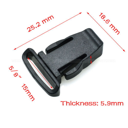 10pcs Detachable Buckle For Lanyard Worker Tag ID Card Holder Lanyard Accessorie